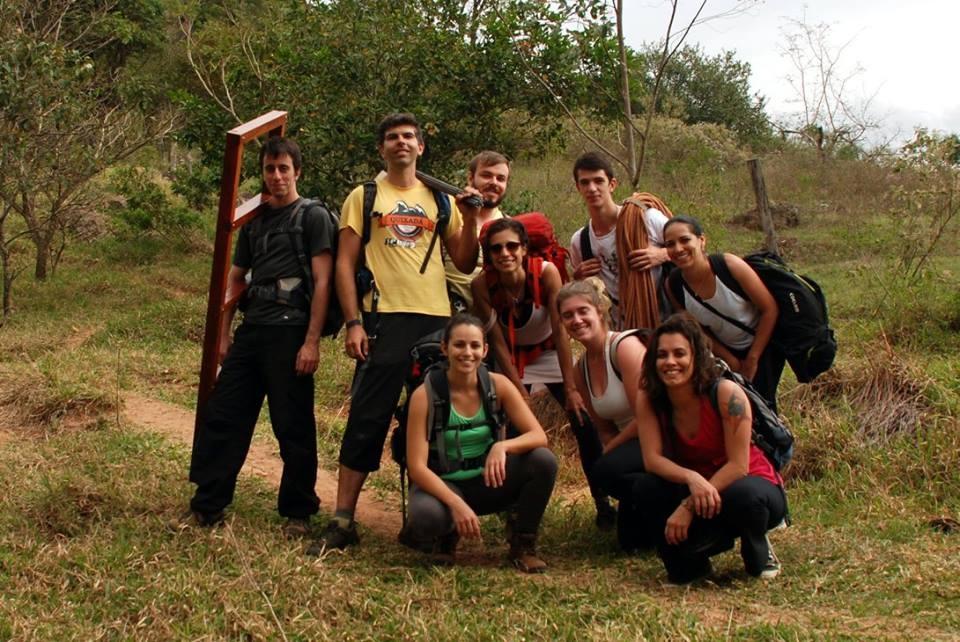 Multirão de manutenção nas trilhas do Cuscuzeiro. (2016)